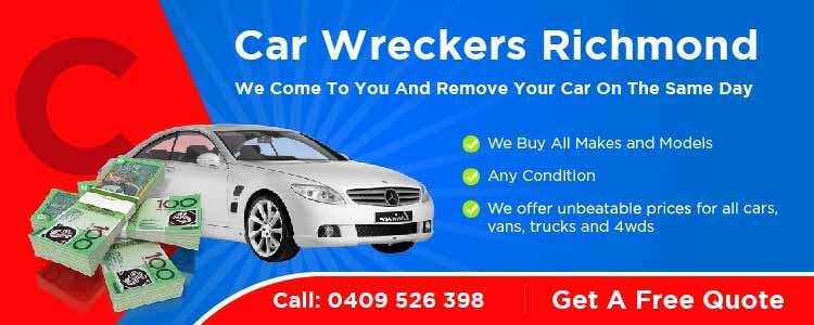 Car wreckers Richmond