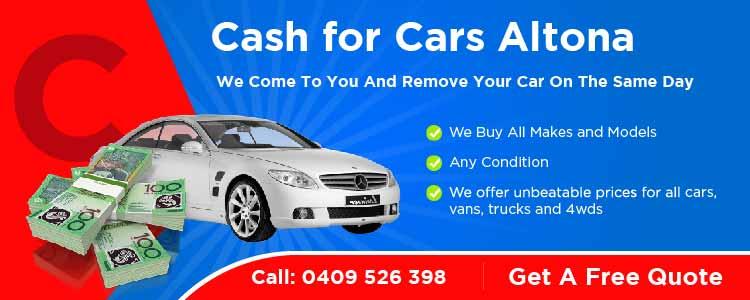 Cash for Cars Altona